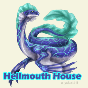 Hellmouth House Family Crest