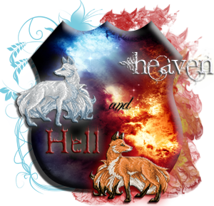of Heaven and Hell Family Crest