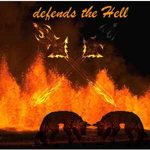 defends the Hell Family Crest