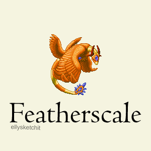 Featherscale Family Crest