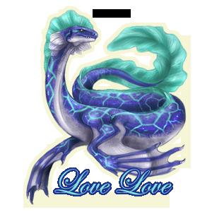 Love Love Family Crest
