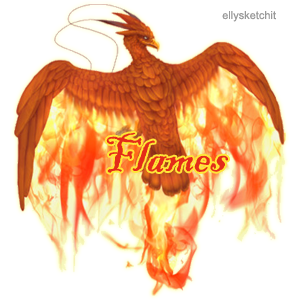 Flames Family Crest