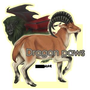 Dragon paws Family Crest