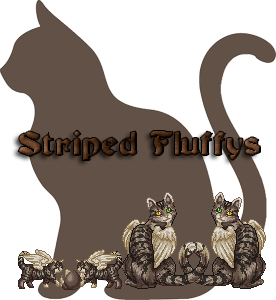 Striped Fluffys Family Crest