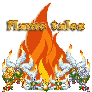 with flame tales Family Crest