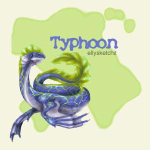 Typhoon Family Crest
