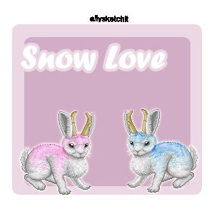 Snow Love Family Crest