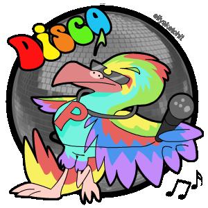 Disco Family Crest