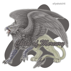Child of Mercury Family Crest