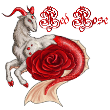 Red Rose Family Crest