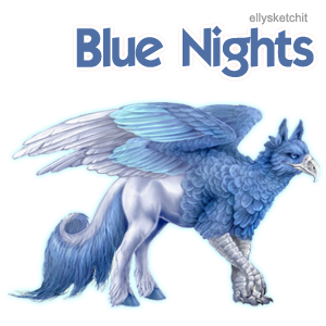 Blue Nights Family Crest