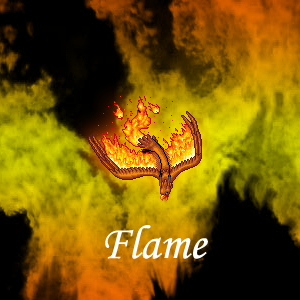 Flame Family Crest