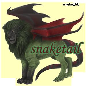 snaketail Family Crest