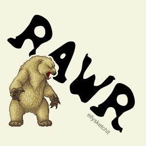 RAWR Family Crest