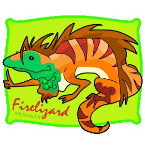 Firelizard Family Crest