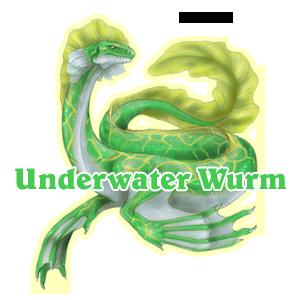 Underwater Wurm Family Crest