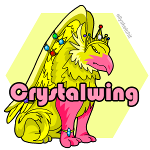Crystalwing Family Crest