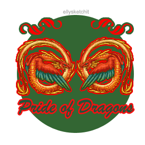 Pride of Dragons Family Crest