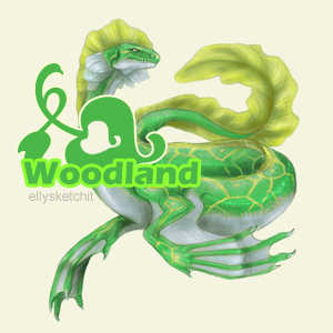 Woodland Family Crest