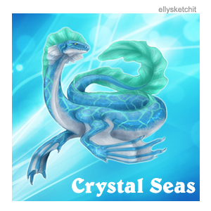 Crystal Seas Family Crest