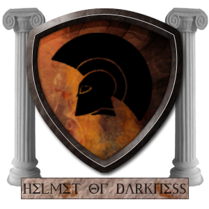Helmet Of Darkness Family Crest