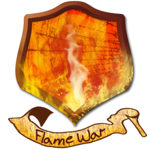 Flame War Family Crest