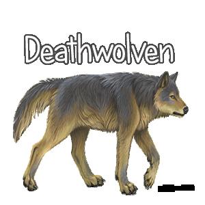 Deathwolven Family Crest
