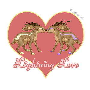 Lightning Love Family Crest