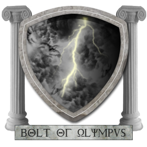 Bolt Of Olympus Family Crest