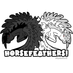 Horsefeathers Family Crest