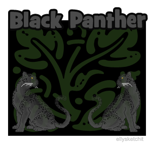 Black Panther Family Crest