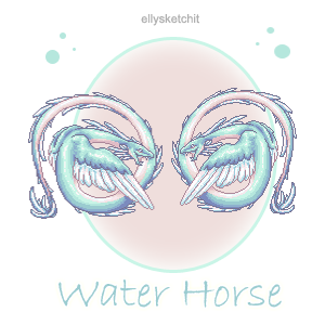 Water Horse Family Crest