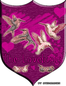 Lovebirds Family Crest